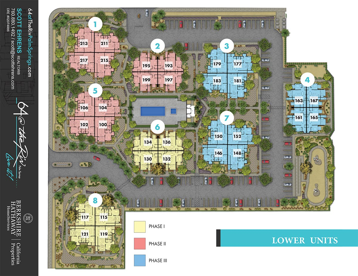 64@ The Riv - Lower Level Site Plan